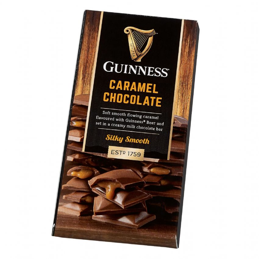 Guinness - Luxury Milk Chocolate Caramel Bar Lir 90g